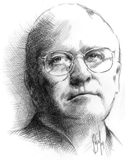 Dick Cheney par Pastis